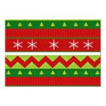 """Ugly Christmas Sweater Voting Ballot Card 3.5"""" X 5"""" Invitation Card"""