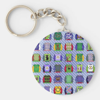 Ugly Christmas Sweaters Keychain