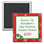 Ugly Christmas Sweaters Small Sweaters Magnets