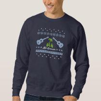 Ugly Christmas Sweatshirt - Ukuleles
