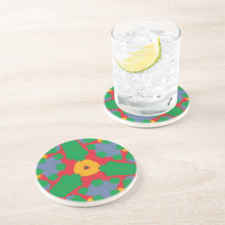 Ugly colorful pattern coasters