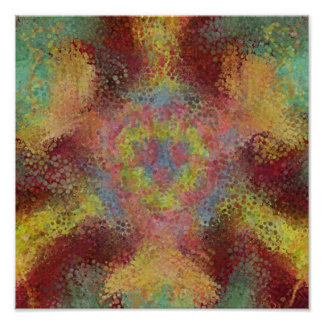 ugly colorful pattern posters