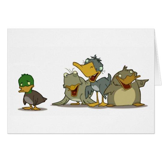 Ugly Duckling Card (Blank Inside)