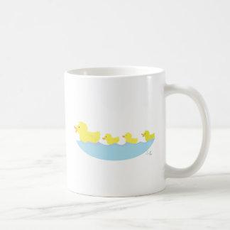 ugly duckling in a pond coffee mug