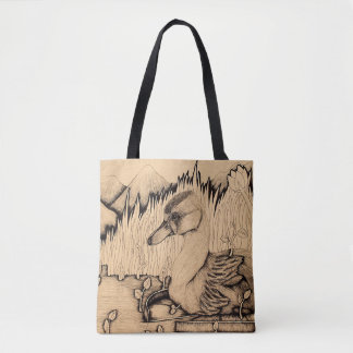 """""""Ugly Duckling"""" Tote Bag"""
