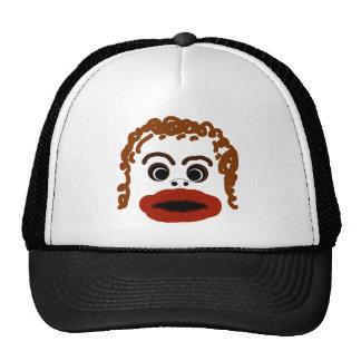 Ugly Face tshirt. Trucker Hat