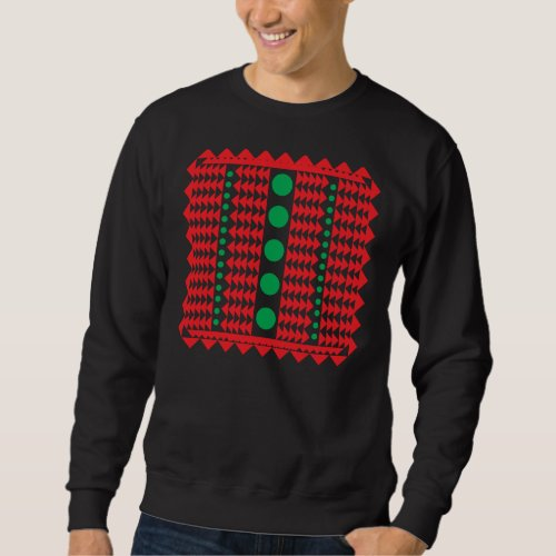 Ugly Green Buttons Sweatshirt After Christmas Sales 3095