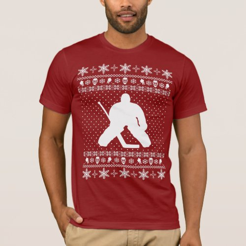 Ugly Hockey Christmas Sweater After Christmas Sales 3104