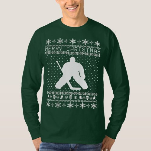 Ugly Hockey Christmas Sweater After Christmas Sales 3109