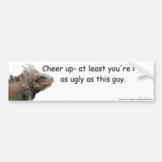 Ugly Iguana Bumper Sticker