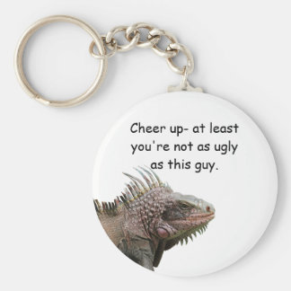 Ugly Iguana Key Chain