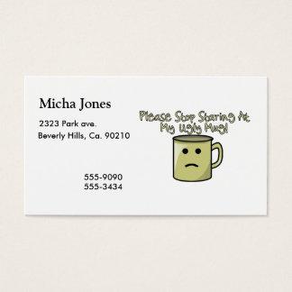 Ugly Mug Business Card