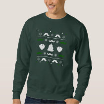 Ugly Mustache Christmas Sweater