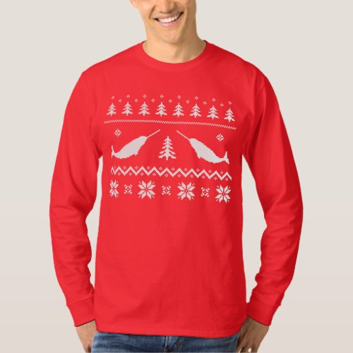 Ugly Narwhal Christmas Sweater After Christmas Sales 3151