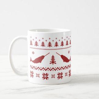Ugly Narwhal Christmas Sweater Mug