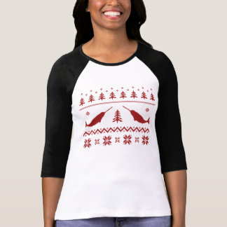 Ugly Narwhal Christmas Sweater T Shirts