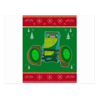 Ugly Non Wing Christmas Design Postcard