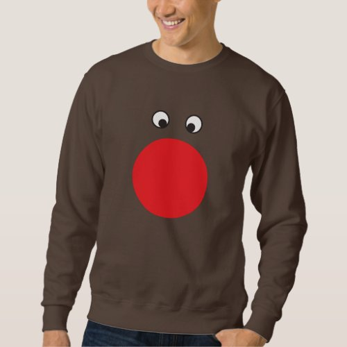 Ugly Red Nosed Sweater After Christmas Sales 3159