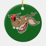 Ugly Reindeer Christmas Ornaments