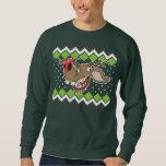 Ugly Reindeer Ugly Christmas Sweater Pull Over Sweatshirt