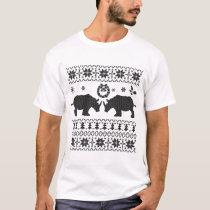 UGLY RHINO CHRISTMAS T-Shirt