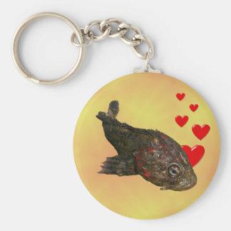 Ugly Rock Fish (Irish Lord) Keychain