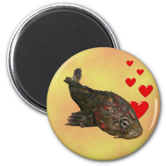 Ugly Rock Fish (Irish Lord) Magnet
