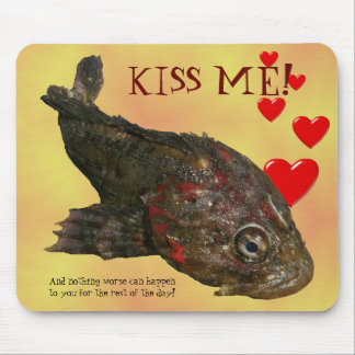 Ugly Rock Fish (Irish Lord) Mouse Pad