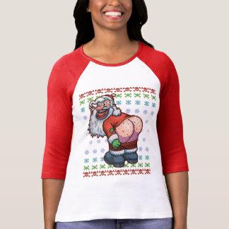 Ugly Santa Moon T-Shirt