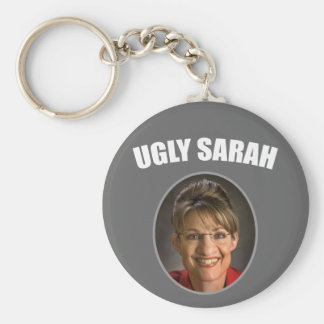 Ugly Sarah Basic Round Button Keychain