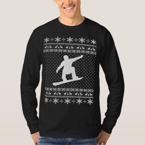 Ugly Snowboarding Christmas Sweater After Christmas Sales 3188