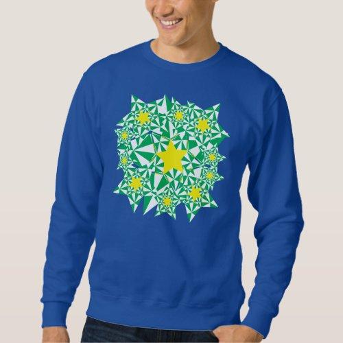 Ugly Star Burst Sweatshirt After Christmas Sales 3197