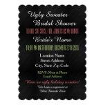 Ugly Sweater Bridal Shower Invitation