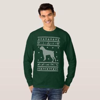 Ugly Sweater Christmas Boxer Dog