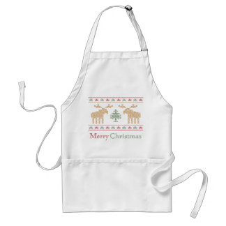 Ugly sweater christmas holiday cooking apron