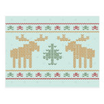 Ugly sweater christmas holiday party invitation postcard