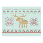 Ugly sweater christmas holiday party invitation post card