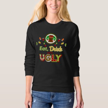 Christmas Themed Ugly Sweater Christmas Holiday Sweatshirt