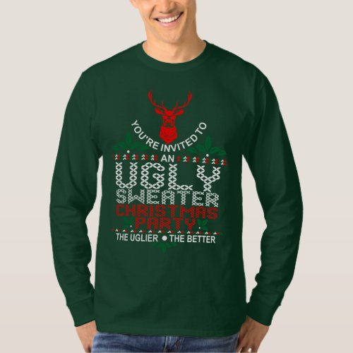 Ugly Sweater Christmas Party Xmas After Christmas Sales 3229