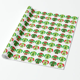 Ugly Sweater Christmas Wrapping Paper