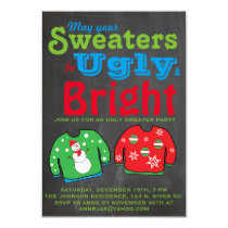 Ugly Sweater Holiday Party. Card