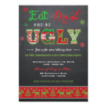 "Ugly Sweater Invitation / Ugly Sweater Invite 5"" X 7"" Invitation Card"