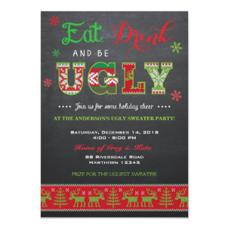 Ugly Sweater Invitation / Ugly Sweater Invite