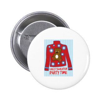 Ugly Sweater Party Buttons