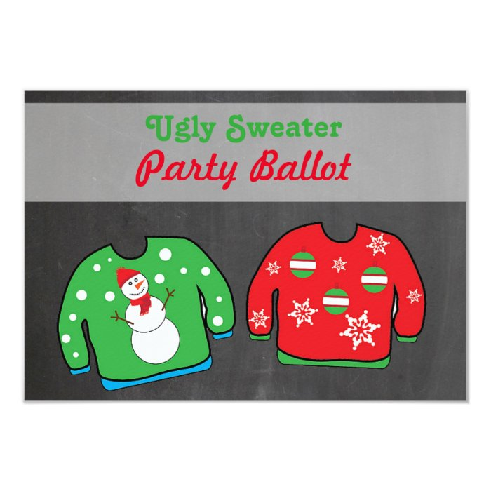 Ugly Sweater Party Invitation was great invitations sample