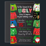 """Ugly Sweater Party Invitation - Christmas Party<br><div class=""""desc"""">Ugly Sweater Party Invitation - Christmas Party</div>"""