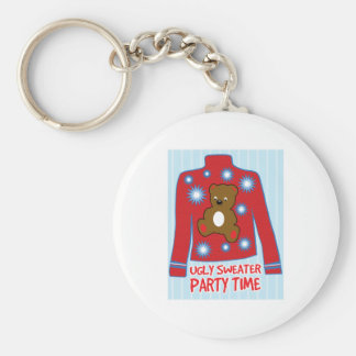 Ugly Sweater Party Key Chains