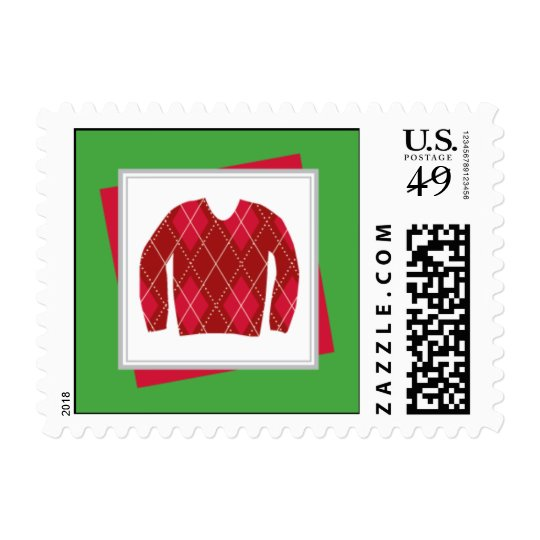 Ugly Sweater Party Postage