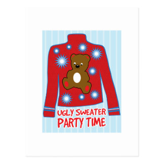 Ugly Sweater Party Postcard