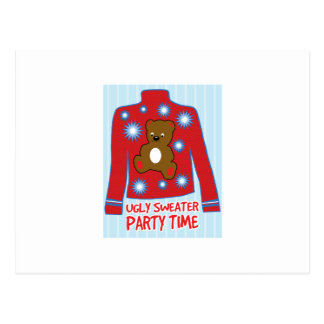 Ugly Sweater Party Postcards